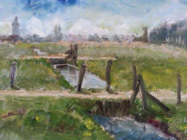 Landschappen schilderen met olieverf