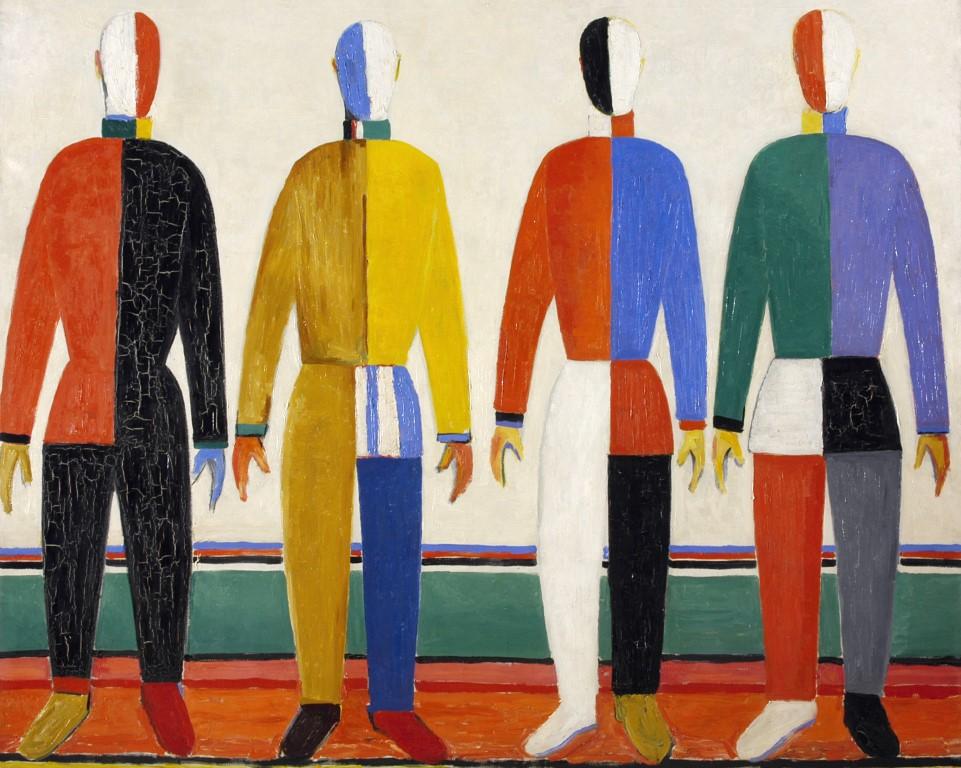 Malevich, een suprematistisch kunstenaar