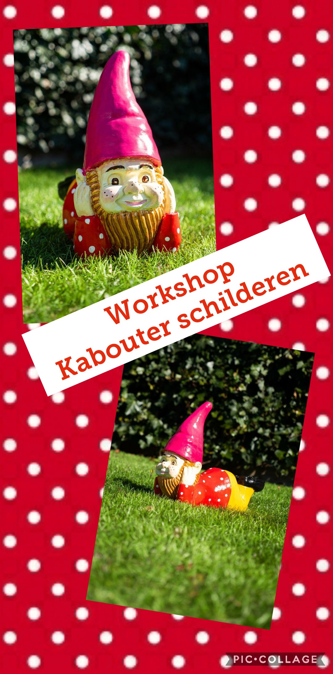 Workshop Tuinposter maken
