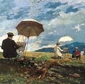 Landschap schilderen in de open lucht