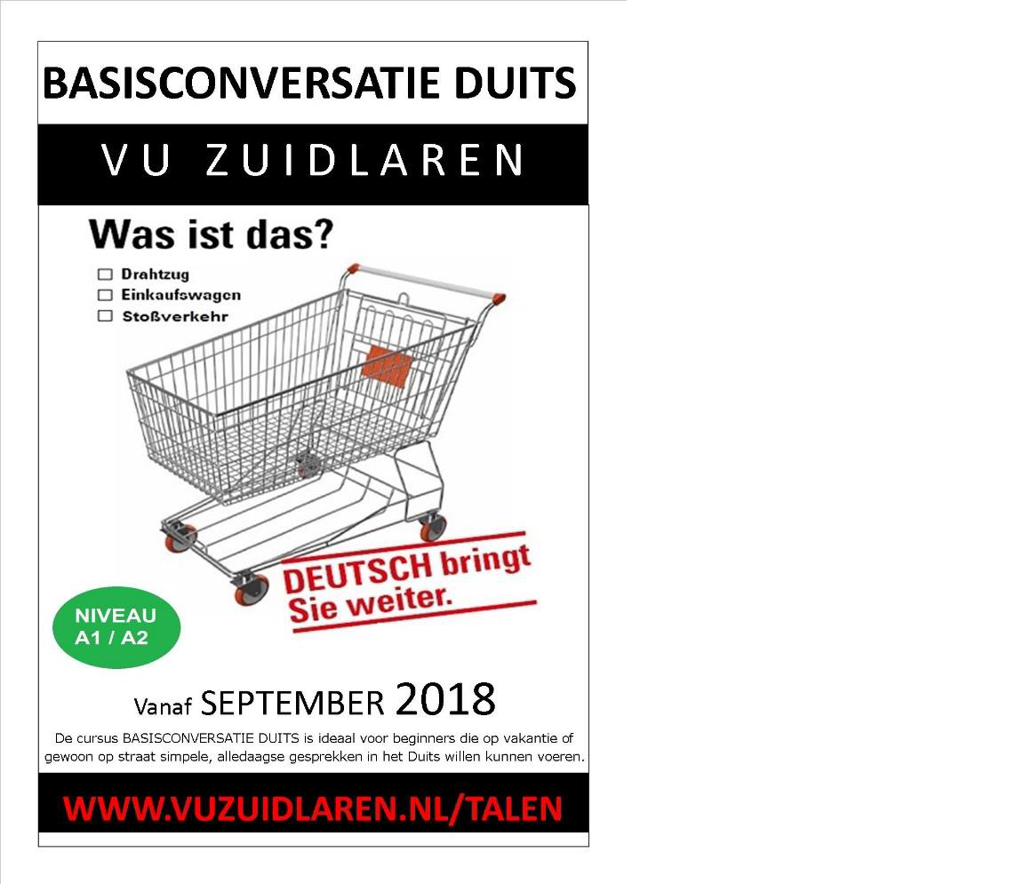 Cursus Duits, Basisconversatie (A) voor beginners