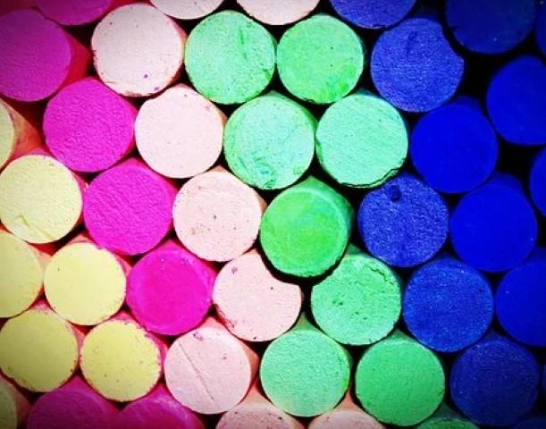 Pastelkrijt Expressie en Kleur