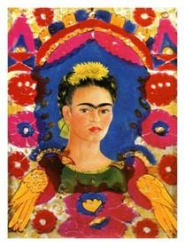 Zelfportret Frida Kahlo
