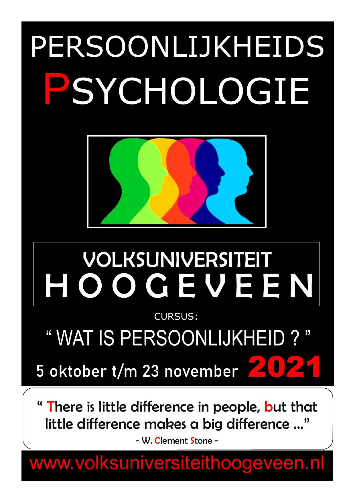 Cursus Psychologie - Wat is persoonlijkheid?