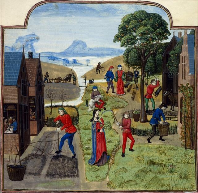 Middeleeuwse tuinen (online)