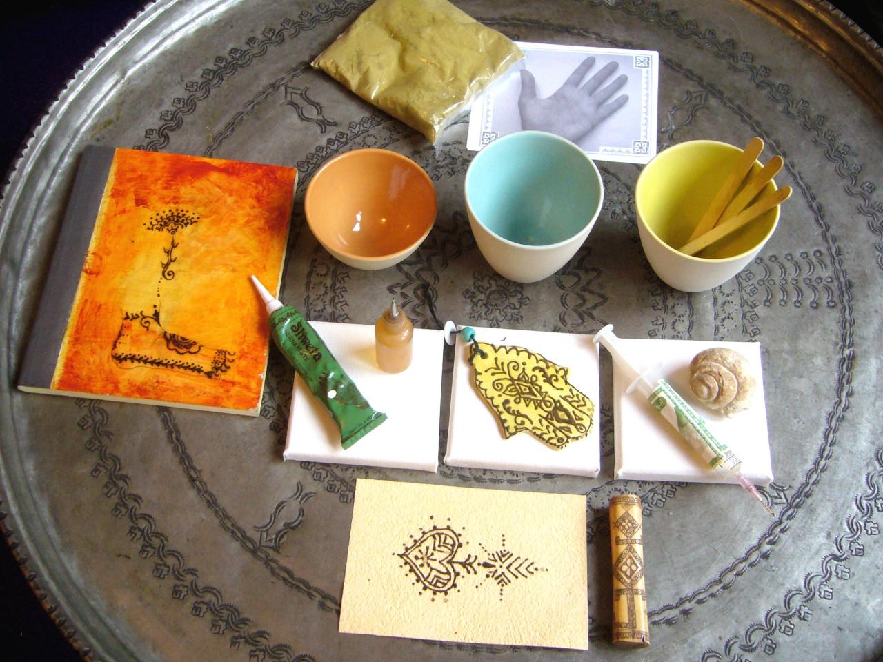 Geheim van henna