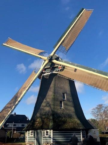 Bezoek aan de Larense molen
