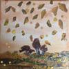 Schilderijtje met verschillende materialen